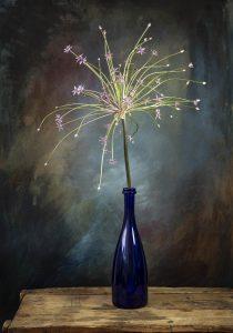 vuuwerk bloem kunstdoosje